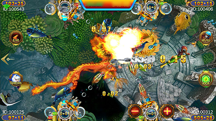 Play Golden Dragon Online Fish Game With Huge Rewards