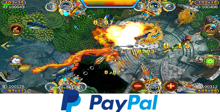 Online Fish Table That Accept PayPal Payment